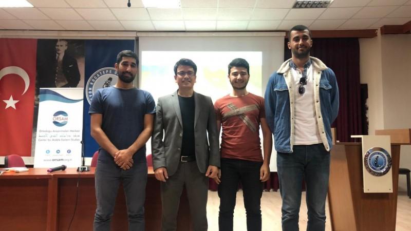 Güney Güvenlik Okulu Saha Sorumluları Ortadoğu Yaz Okuluna Katılım Gösterdi